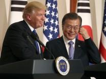 Donald Trump, Moon Jae-in