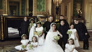 Offizielle Hochzeitsbilder von Prinz Harry und Meghan