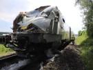 Zug stößt mit Lastwagen zusammen - mehrere Verletzte (Vorschaubild)