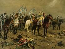 Gustav Adolf bei Lützen / nach L.Braun