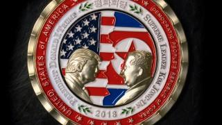 Trump Und Kim Auf Der Münze Vereint Politik Süddeutschede