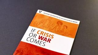Broschüre für Kriegs- und Krisenfall in Schweden