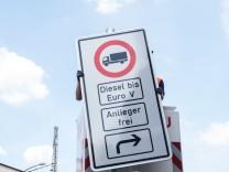 Diesel-Fahrverbote in Hamburg