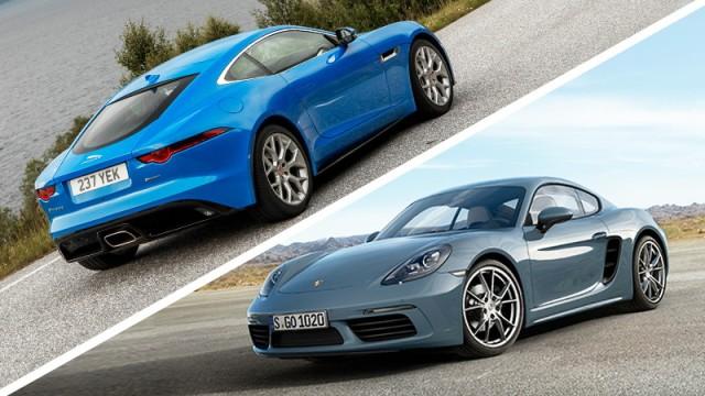 Autotest Vergleichstest: Porsche gegen Jaguar
