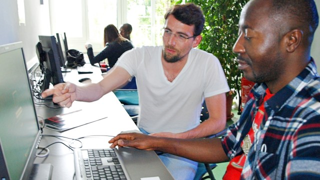 Computerkurse für Flüchtlinge in München