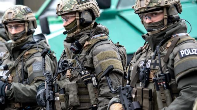 """Gemeinsame Übung ´Getex"""" von Polizei und Bundeswehr"""