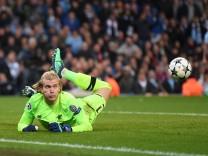 Manchester City v Liverpool - UEFA Champions League Quarter Final Second Leg; Karius