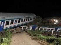 Zugunglück in Italien