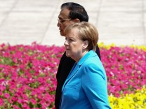 German Chancellor Angela Dorothea Merkel Visits China