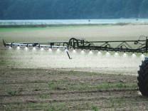 Einsatz von Pestiziden in der Landwirtschaft