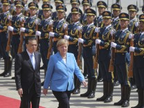 Angela Merkel, Li Keqiang