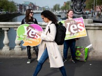 Vor dem Referendum in Irland