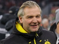 Muenchen Deutschland 20 12 2017 DFB Pokal Achtelfinale FC Bayern Muenchen BV Borussia Dortmun; Wolfgang de Beer Borussia Dortmund