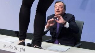 Zwischenfall bei EZB-PK in Frankfurt am Main