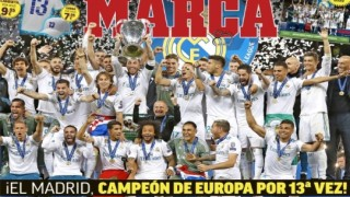 Marca Titelseite Real Madrid FC Liverpool Champions League
