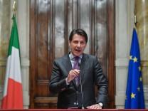 Regierungsbildung in Italien