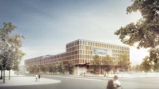 Strafjustizzentrum Neubau Leonrodplatz Gerichtssaal