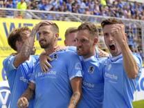 27.05.2018,  Fussball 3.Bundesliga: Relegation, 1860 - Saarbrücken