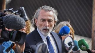 Gürtel Korruptionsprozess in Madrid Francisco Correa Defendant Francisco Correa C leaves the Nat