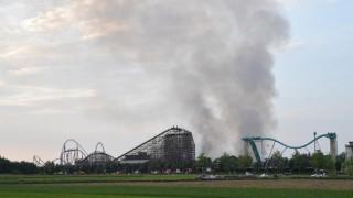 Großbrand im Europapark Rust
