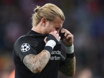Loris Karius vom FC Liverpool im Champions-League-Finale 2018 - Real Madrid gewann das Endspiel durch zwei schwere Patzer des Torhüters.
