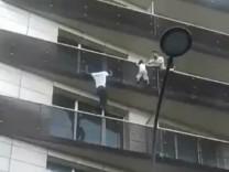 Spiderman von Paris
