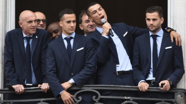 Ankunft Real Madrid