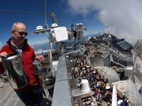 Wetterdienst auf der Zugspitze
