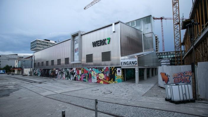 Werk 7, in dem das Fack ju Göhte-Musical gespielt wird, im Werksviertel