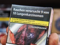 Studie über Schockbilder gegen das Rauchen veröffentlicht.