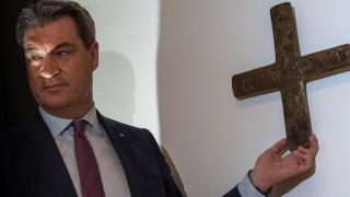 Markus Söder und das Kreuz