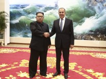 Kim Jong-un Lawrow Nordkorea Russland