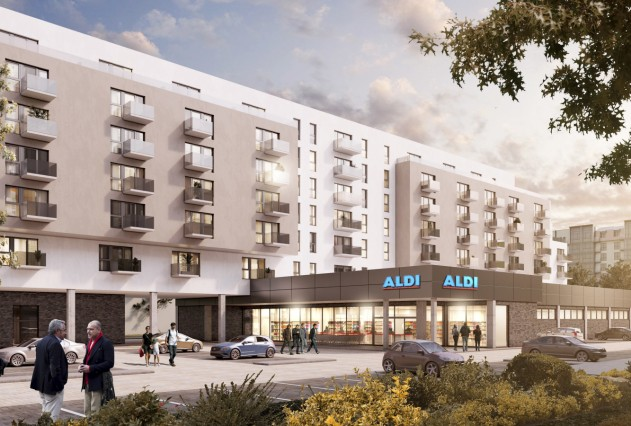 Aldi plant Wohnprojekt