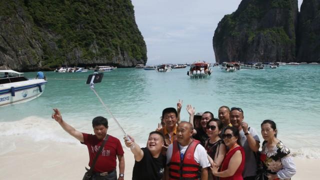 Maya Bay The Beach Thailand geschlossen