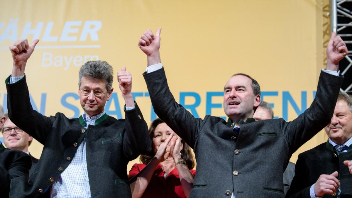 Freie Wähler Mit Sieben Punkten In Den Landtag Bayern