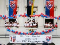 Aufstiegsfeier des KFC Uerdingen
