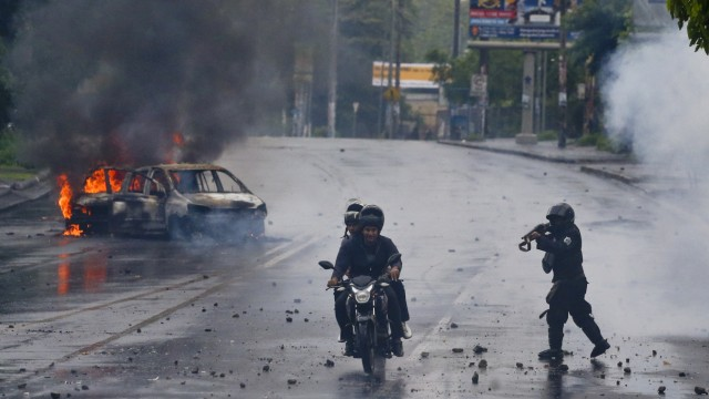 Politik Nicaragua Proteste