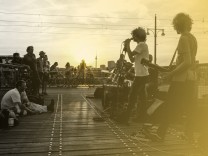 Musik an der Warschauer Straße