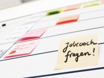 Job und Bewerbung - der SZ-Jobcoach hilft