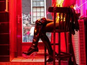 Nackt aus der Jobkrise Erotikbranche Prostitution, afp