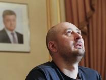 Russischer Reporter Babtschenko