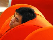 Übernachten auf dem Flughafen: Hongkong International