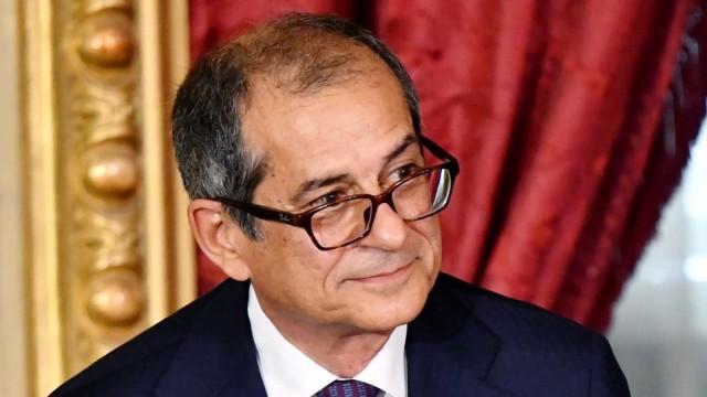 Politik Italien Giovanni Tria