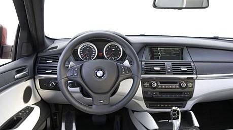 Innenausstattung  BMW X5 M und X6 M - Für die exklusive Innenausstattung sorgt ...