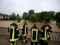 Überschwemmung in Lünebach