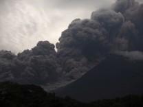Vulkanausbruch in Guatemala: Mindestens 25 Menschen kamen beim Ausbruch des Volcán de Fuego ums Leben.