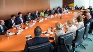 Bundesregierung: Sitzung des Bundeskabinetts im Mai 2018 im Berliner Bundeskanzleramt.