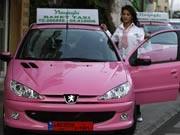Taxi-Unternehmen nur für Frauen in Beirut, AFP