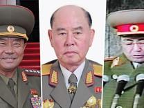 Nordkoreas Machthaber Kim Jong-un hat offenbar mehrere hochrangige Militärführer abgesetzt.