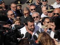 Salvini besucht Sizilien